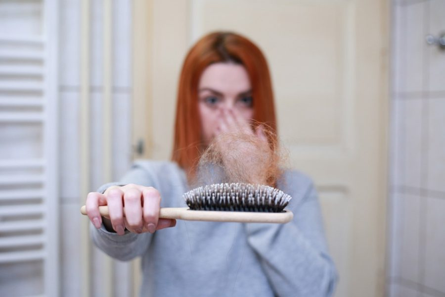 Stres i wypadanie włosów